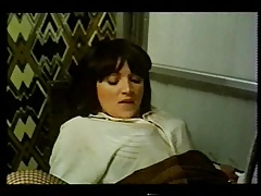 Doppelpenetration, Gruppe, Behaart, Strümpfe, Vintage
