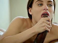 Брюнетки, Семяизвержение, Член, Секс без цензуры, Межрасовый секс
