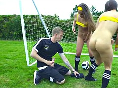 Soccer Sluts get Analized Outside