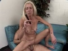 Mature Cigar Smoking Dude Fucks Mature Woman (3-3)