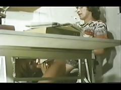 Vintage - Under The Desk Cock Sucking