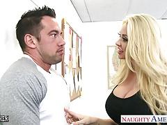 Busty blonde sex teachers Phoenix Marie and Summer Brielle s