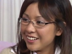 Asiatic In Glasses Fucked