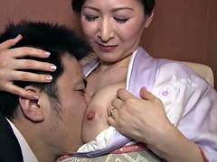 Gros seins, Éjaculation interne, Japonaise, Mature, Mère que j'aimerais baiser