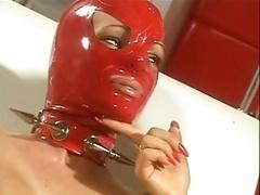 Rubber Lesbians - clinic treatment