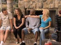 Rubia, Mamada, Grupo, Sexo duro, Madres para coger, Intercambio de parejas