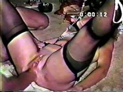 Amateur whore  anal fist-fucking