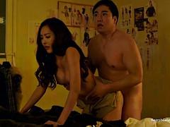 Aziatisch, Bruinharig, Beroemdheid, Stel, Koreaans, Softcore pornografie