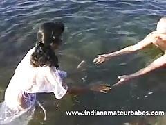 Indian Amateur Babes Hardcore Fucking On Beach