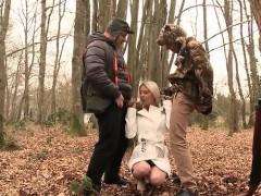 French pornstar threesome with cumshot