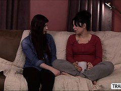 Kinky TS Chelsea have sex with a chick