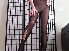 Let me give you a POV handjob in nothing but fishnets JOI