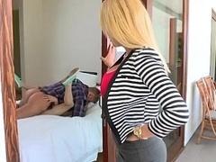 Mamada, Pareja, Ama de casa, Maduro, Mamá, Pequeña, Flaco, Trio