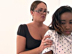 Negro, Ébano, Lesbiana, Madres para coger, Adolescente