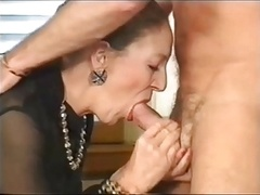 Mature secretary fisted and backdoor fucked