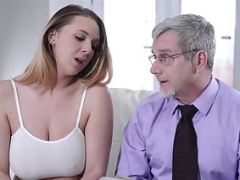 Sperma shot, Natuurlijke tieten, Pornster, Tiener