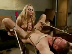 Femdom goddess and Male Sexslave