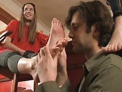 Dominacion femenina, Fetiche de pies