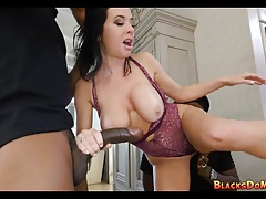Black Robbers Double Team Cougar