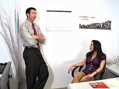 Большие сиськи, Минет, Член, Секс без цензуры, В офисе, Тату