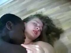 Black Guy Makes Blonde  Pregnant