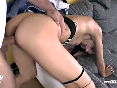 They fuck me like  brothers would do - Latex Gangbang Fami