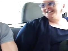Granny gangbang