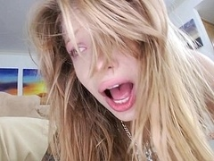 18 jaar, Grote lul, Blond, Lul, Dik, Realiteit, Mager, Tiener