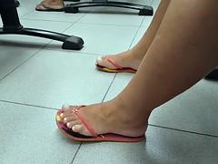 Candid feet #181