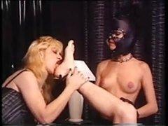 Black Leather Mask Mistress Of Ceremonies