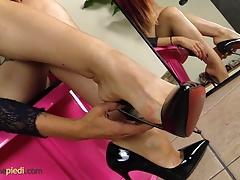 Pieds, Fétiche des pieds, Hd, Rousse roux