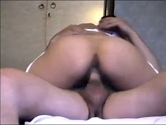 Brunette Milf In Stockings Rides And Sucks Cock
