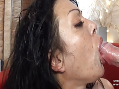 Chubby amateur french milf analyzed n DP with cum in mouth
