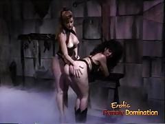 Domination, Érotique, Femelle, Femme dominatrice, Maîtresse, Rétro, Fessée, Rétro ancien