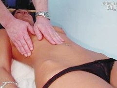 Sara gyno vag speculum exam by kinky aged doctor