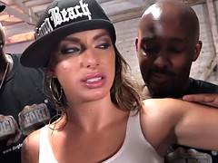 Juelz Ventura Gets Her Holes Filled With Black Coc