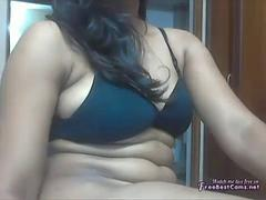 Indienne, Orgasme, Adolescente, Webcam