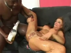 Insane Group orgy - Double drilling Interracial Squirting Fist-fucking Swallow