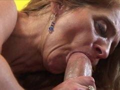 Mature lady deserves entertainments because is full of energy