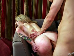 Handsome Boy Fucks Her Anus