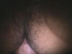 slut lady-boy fucked for a white flag pole at gloryhole