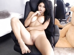Nice-looking babe attractive tits lovely cunt