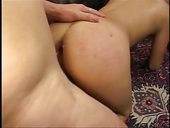 Slut with gaping asshole banged