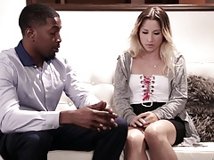 Big black cock therapy instead of couple therapy