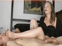 Mature Mom Foot Fetish! Amateur!