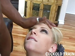 You can jerk off while I get pounded by a real man