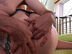 Three Finger In Ass Amateur Anal Foreplay