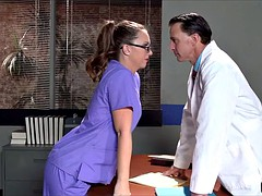 Fat Ass Nurse gets into trouble