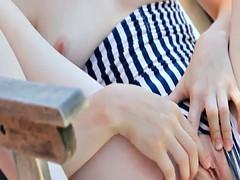 Chica, Penetracion con dedos, Masturbación, Ruso