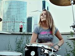 my favorite teen drummer-girl Vika
